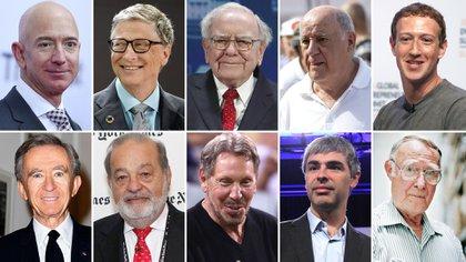 Las 10 personas más ricas del mundo según el Índice de Multimillonarios de Bloomberg en 2017