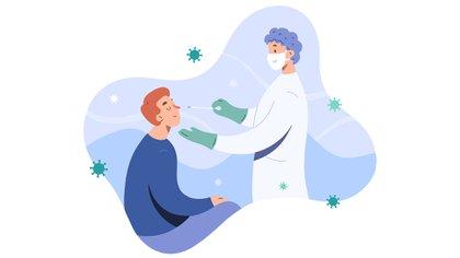 La pérdida súbita del olfato se manifiesta como consecuencia de que el SARS-CoV-2 ingresa por las fosas nasales y se pone en contacto con el epitelio olfatorio (Shutterstock)