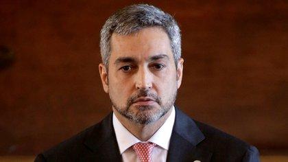 Mario Abdo Benítez (Reuters)