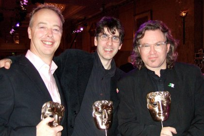 Phil Davies, Mark Baker y Neville Astley