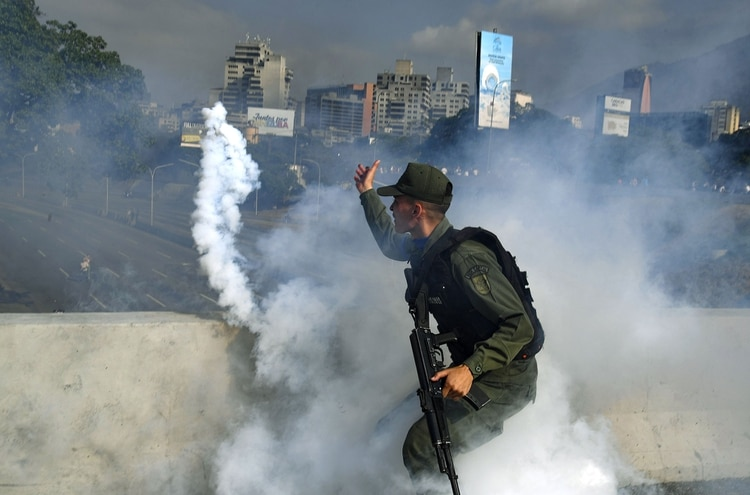 Incidentes en las rutas de Venezuela.