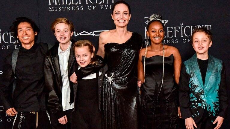 Angelina Jolie Brad Pitt separación