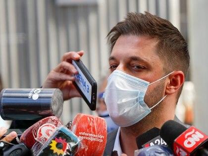 Matias Morla, último abogado de Diego, también particular damnificado (REUTERS)