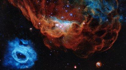 "La imagen titulada ""Arrecife cósmico"" del Hubble"
