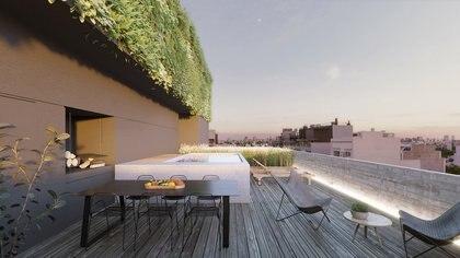 """""""Se busca hacer edificios con amenities que puedan respaldar estas unidades pensadas como casas"""""""