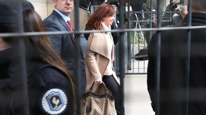 Cristina Kirchner, otra vez volverá a Tribunales (Foto: Maximiliano Luna)