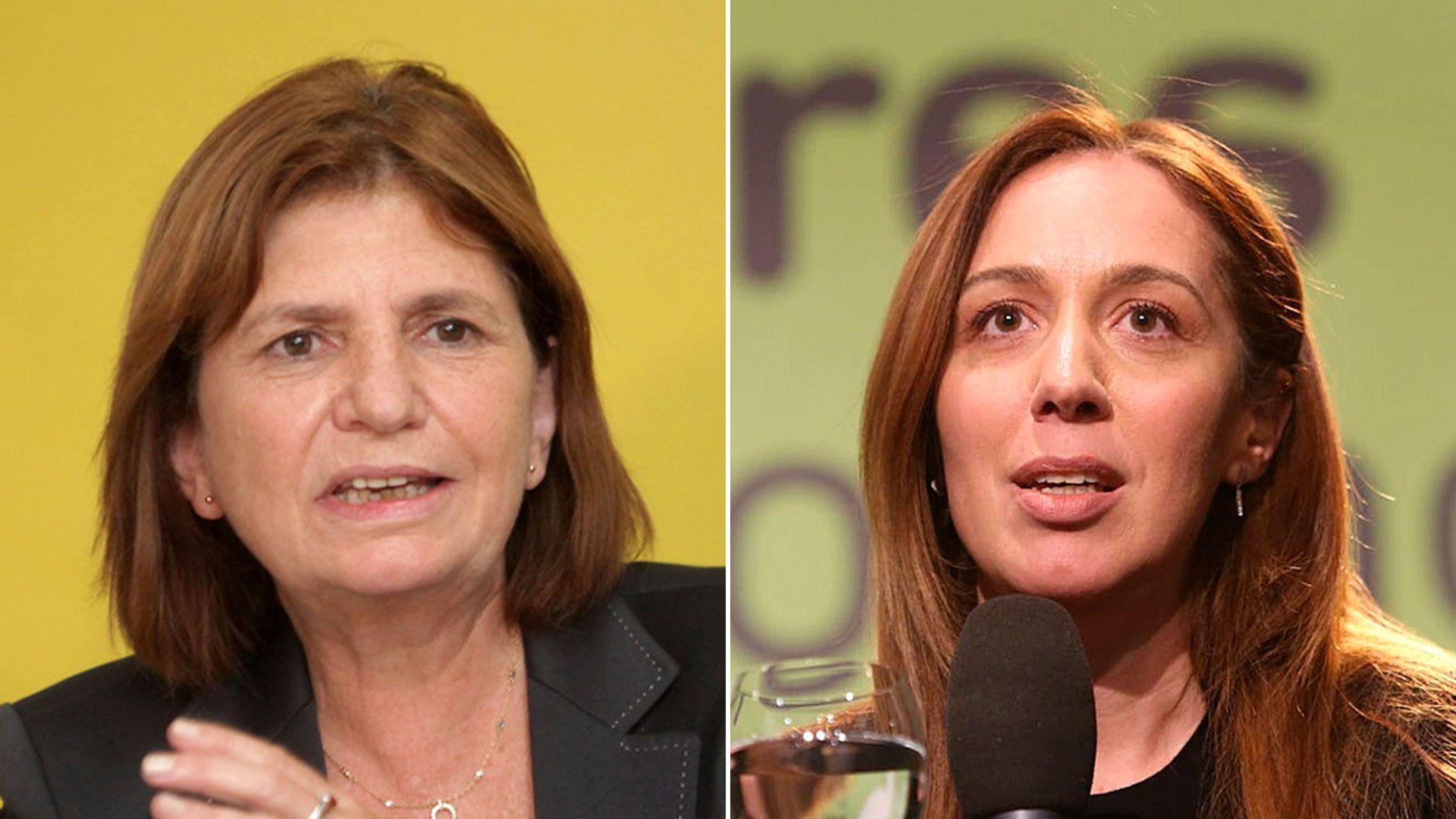 Patricia Bullrich y María Eugenia Vidal