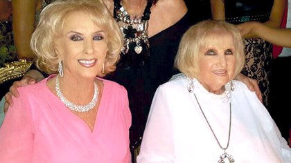 Las hermanas Mirtha y Goldy Legrand