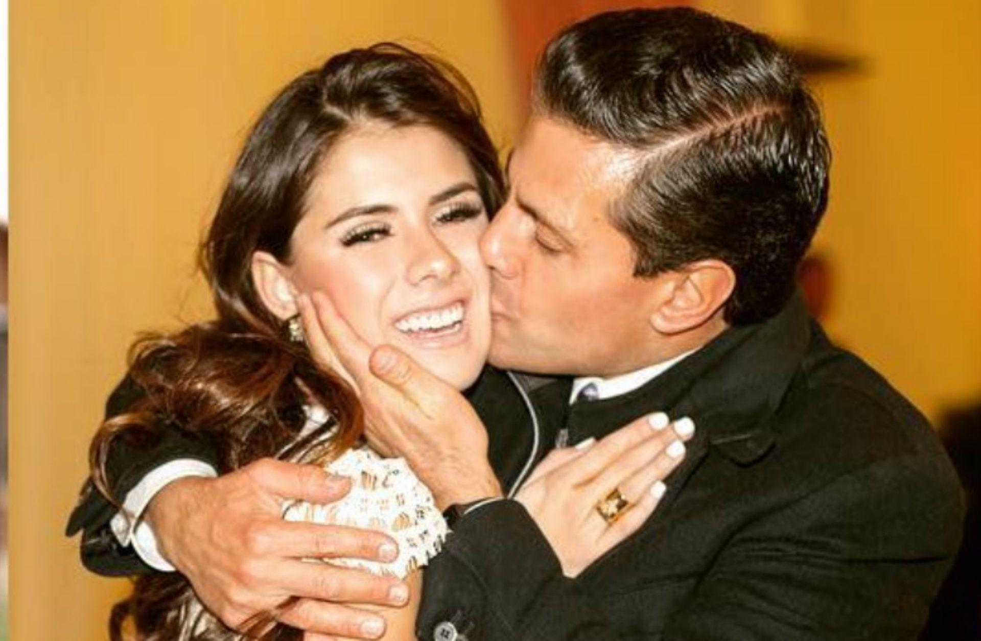 Enrique Peña Nieto junto a su hija Paulina (Foto: Instagram/epn)