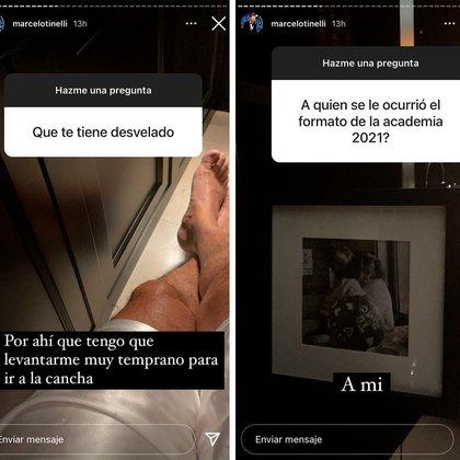El insomnio y la tele, algunas de las cuestiones a las que se abrió Marcelo Tinelli en la madrugada del sábado (Foto: Instagram @marcelotinelli)