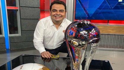 Ángel García Toraño llegó en 2006 a ESPN México (Foto: Twitter/garciatorano)