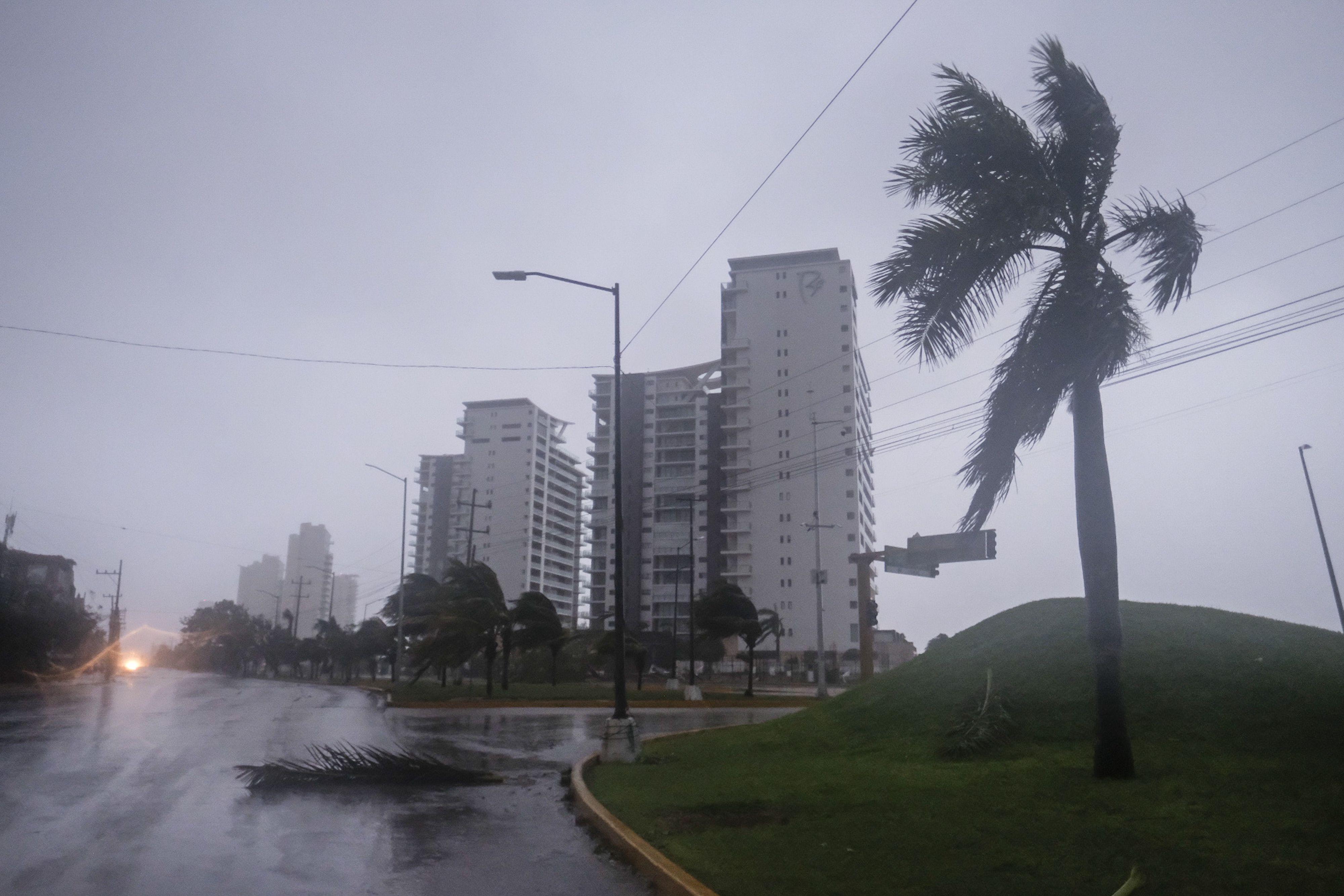 HURACAN DELTA - MEXICO - 07102020