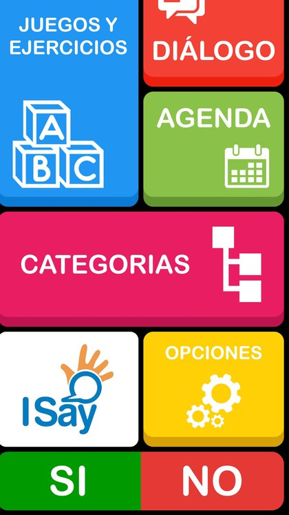 La app ISay en su versión móvil