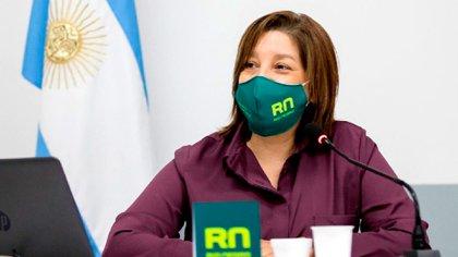 Arabela Carreras, gobernadora de Río Negro