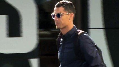 Ronaldo no quiso hablar del tema ante los medios