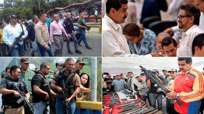 Las imágenes que publicó Guaidó en Twitter