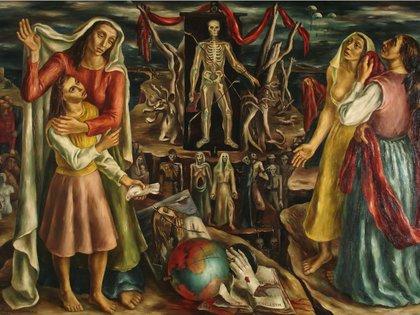 """Raquel Forner, """"El drama"""", 1942"""