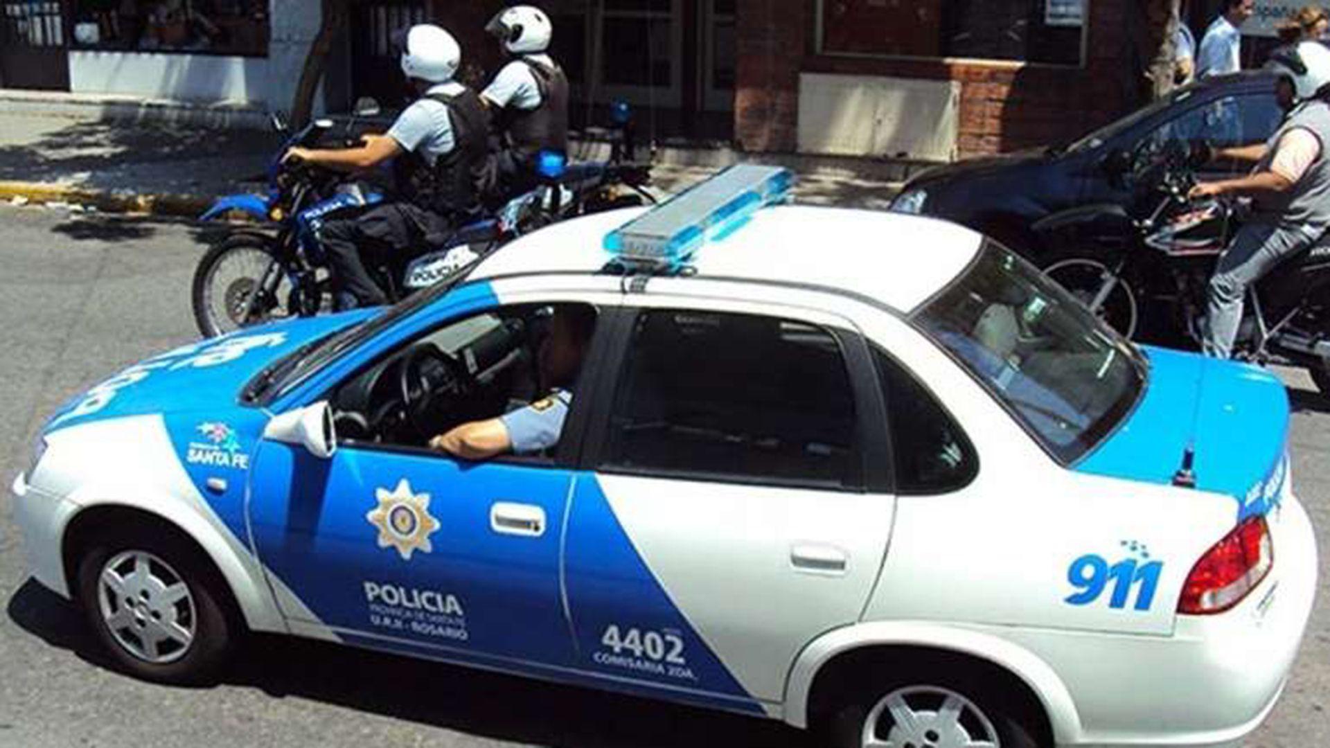 La banda distribuía volantes en la zona del Mercado de Productores de Rosario