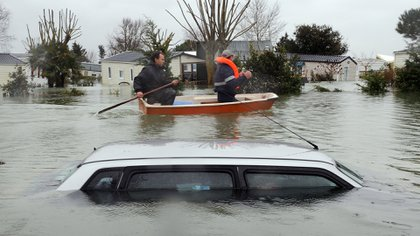 """""""Cuando sucede una inundación no se tiene manera de cuantificar el daño causado, tanto a nivel estructural como económico"""", dice Dubón. Foto: Fernando Calzada."""