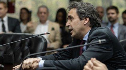 El juez Alejo Ramos Padilla en el Consejo de la Magistratura (Adrián Escandar)