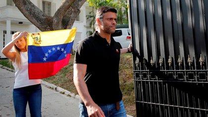 El régimen detuvo a distintas personas tras la salida de Leopoldo López de Venezuela