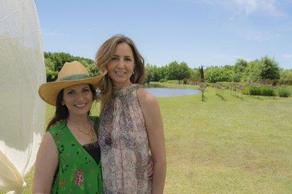 Larisa Andreani y Eleonora Molina