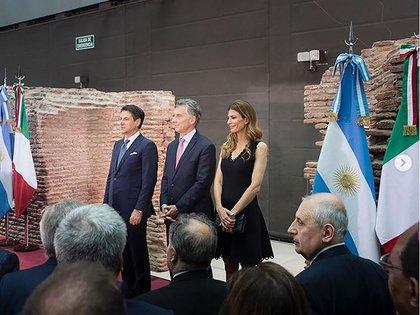 Recepción del Presidente del Consejo de Ministros de Italia, Giuseppe Conte