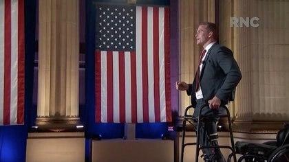 Su aparición en la Convención Republicana (Reuters)