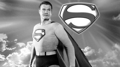 George Reeves lo llevó a la pantalla chica durante 6 temporadas en la década del 50