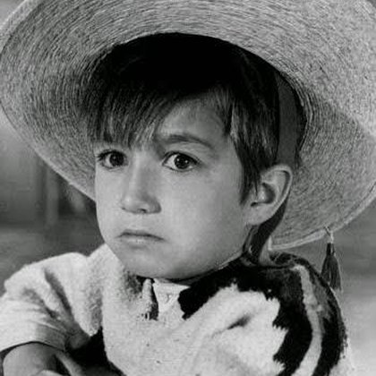 """""""Pulgarcito"""" logró fama internacional siendo un niño (Foto: Twitter@anamaalvarado)"""