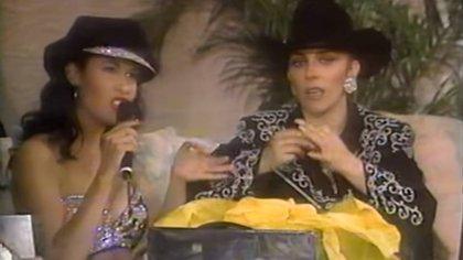 """El día que Selena brilló en """" Y Vero América, ¡va!"""": así fue su reunión con Verónica Castro"""