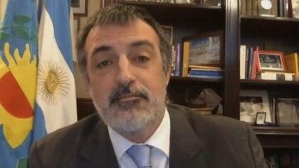 El senador nacional de Juntos por el Cambio Esteban Bullrich