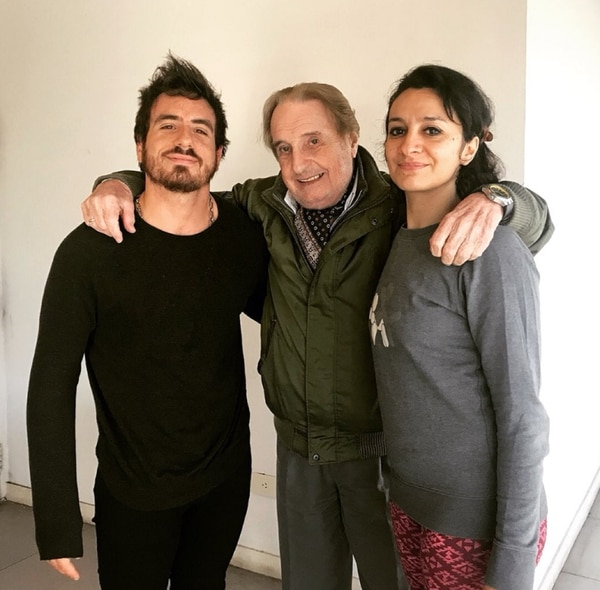 Fede, Santiago Bal y Anita Martínez