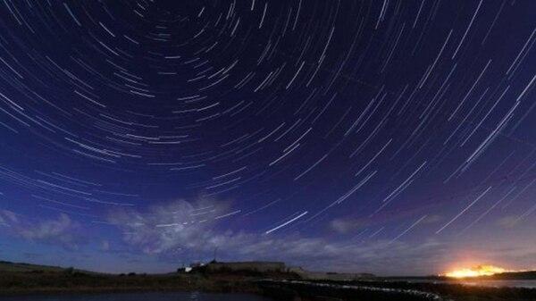 Una lluvia de meteoritos