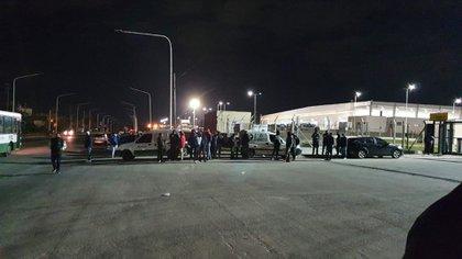 Amenazas de bloqueo en la noche del miércoles en las inmediaciones del Mercado Central. donde está el principal depósito de logística de la empresas de ecommerce