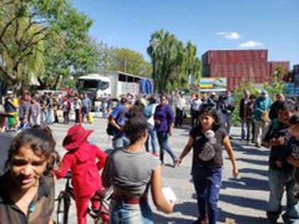 Gracias a la solidaridad de los voluntarios, Convidarte 31 llegó al récord a entregar 1800 viandas semanales