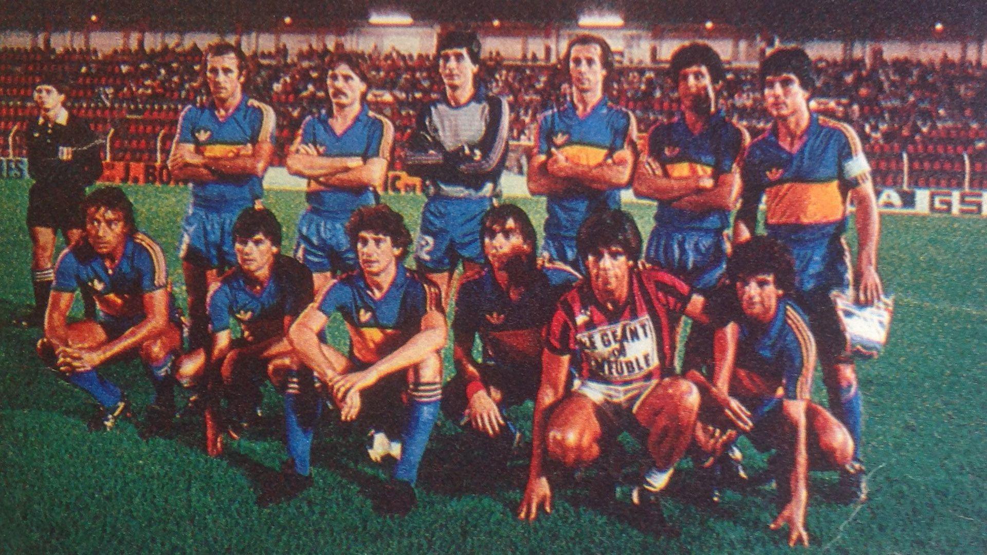 Boca en 1984