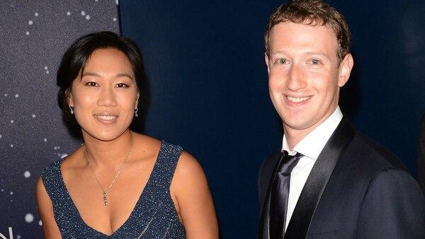 Mark Zuckerberg y Priscilla Chan. Foto: Archivo Atlántida Televisa.
