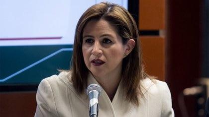 Martha Tagle, de Movimiento Ciudadano, fue la diputada encargada de argumentar en contra de la propuesta de reforma (Foto: Cuartoscuro)
