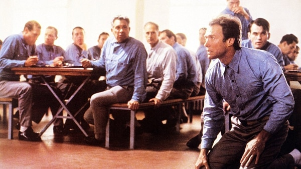 """Clint Eastwood en """"Escape de Alcatraz"""", una de las mejores películas de los años 70 (Paramount Pictures)"""