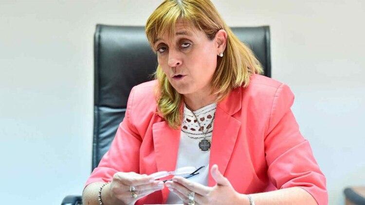 Jueza María Yáñez, a cargo de la investigación de la causa ARA San Juan. (Télam)