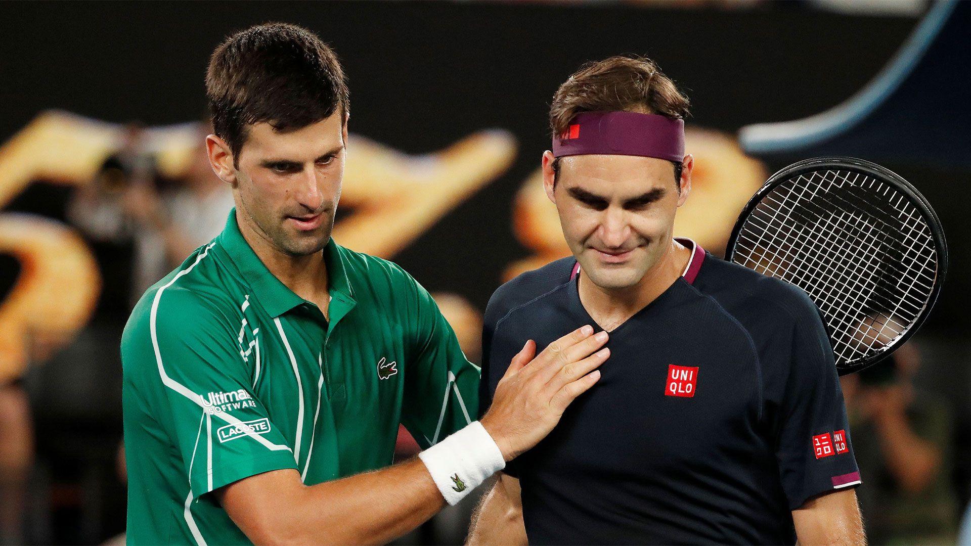 Djokovic con Federer