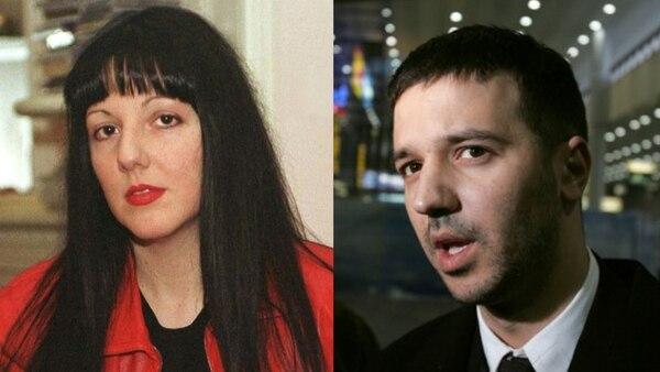 Marija y Marko, hijos de Milosevic