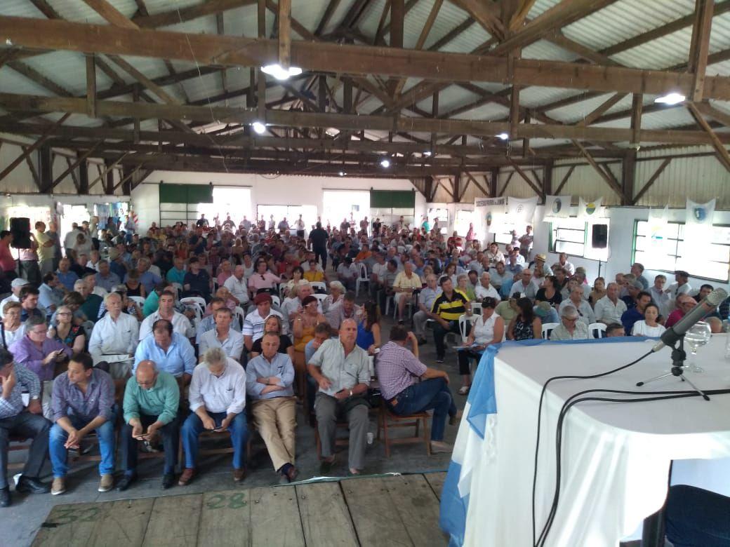 Una de las Asambleas rurales de principios de 2020, cuando el campo protestaba por la suba de retenciones. Luego, la pandemia tapó todo.