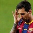 FOTO DE ARCHIVO: Lionel Messi en el Camp Nou, Barcelona, España, el 19 de septiembre de 2020. REUTERS/Albert Gea