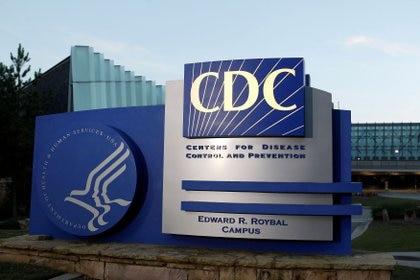 La fachada de los Centros para el Control y la Prevención de Enfermedades