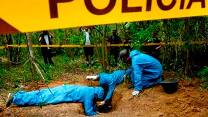 En fosas comunes encontraron a los 12 desaparecidos por la OLP