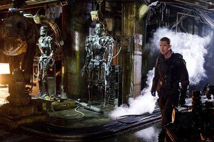 Christian Bale en una escena de Terminator-La Salvación (Foto: Moviestore/Shutterstock)