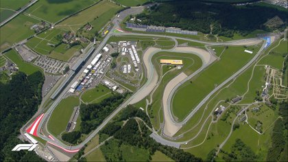 Circuito de Spielberg, Austria (Foto: Twitter/F1)
