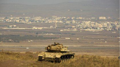 El Ejército sirio avanza sobre territorios cercanos a la frontera con Israel (EFE)